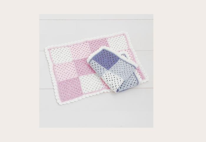 かぎ針編みで作る《マルチカバー》フリル