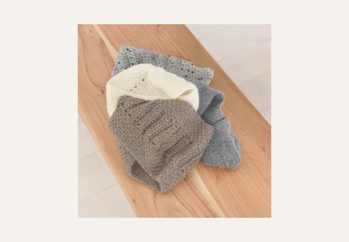 かぎ針編みでスヌードを編むなら、今から!